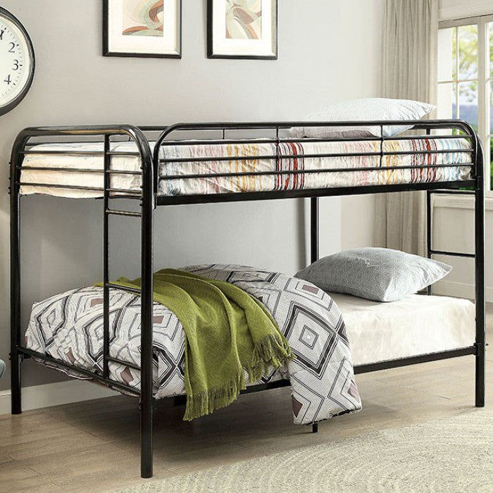 Opal CM-BK931BK-FF Full/Full Bunk Bed By Furniture Of AmericaBy sofafair.com