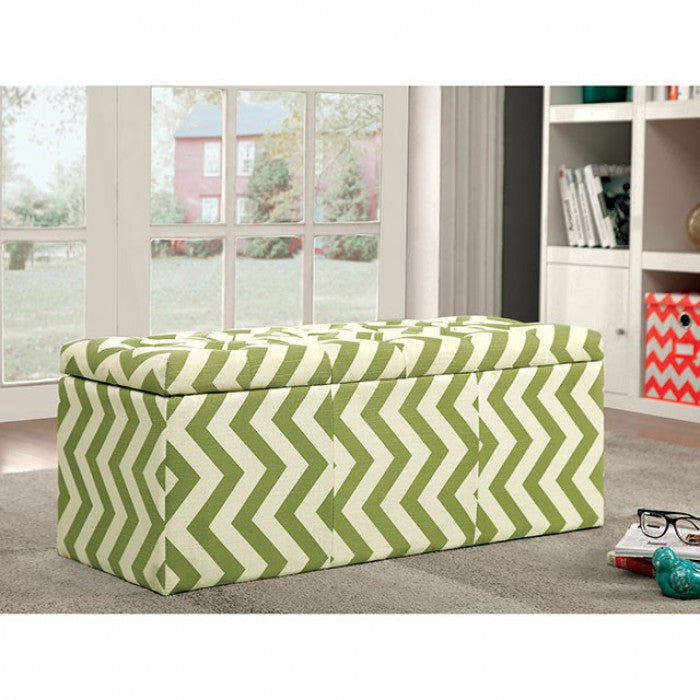 Zahra CM-BN6031GR Storage Ottoman By Furniture Of AmericaBy sofafair.com