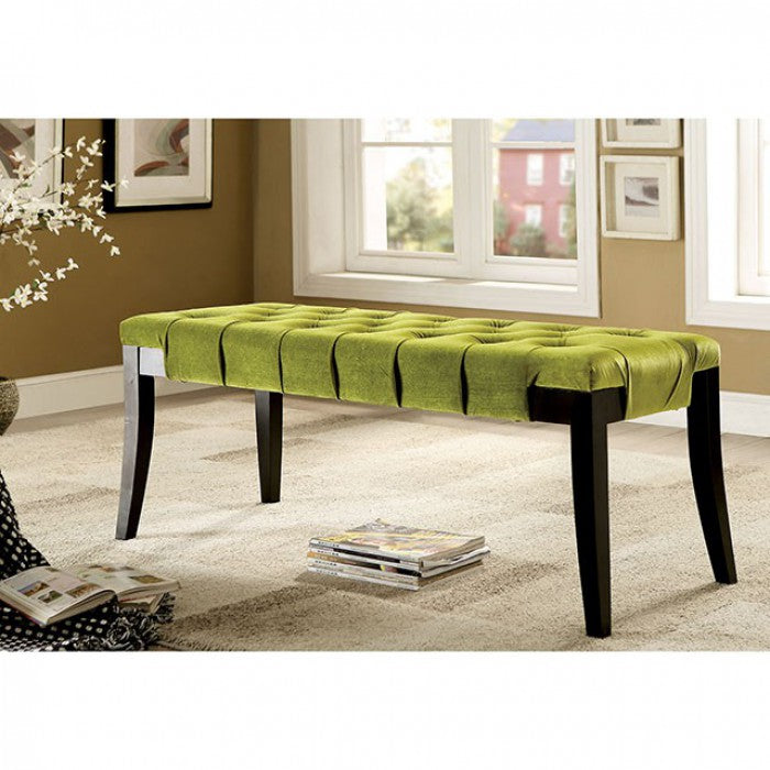 Milany CM-BN6201GR Bench By Furniture Of AmericaBy sofafair.com