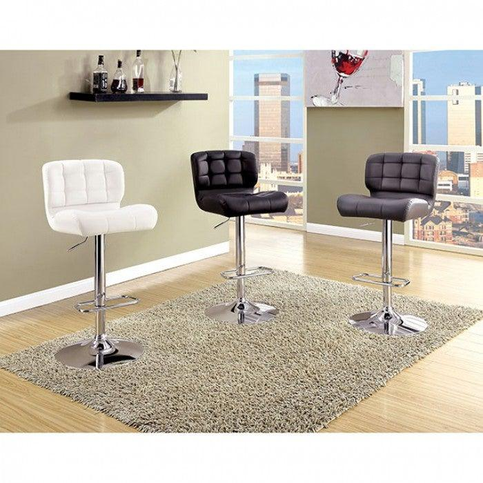 Kori CM-BR6152BK Bar Chair By Furniture Of AmericaBy sofafair.com