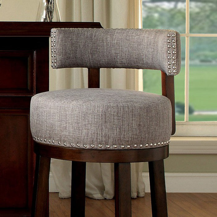 "Lynsey CM-BR6252LG-29-2PK 30"" Bar Stool (2/Box) By Furniture Of AmericaBy sofafair.com"