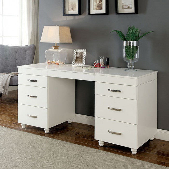 Verviers CM-DK6103 Vanity Desk By Furniture Of AmericaBy sofafair.com
