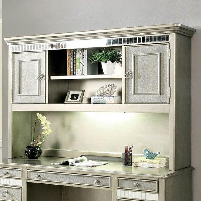 Aine CM-DK908DH Computer Desk Hutch By Furniture Of AmericaBy sofafair.com