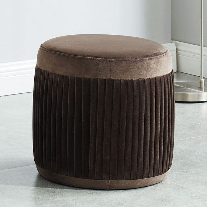 Revel CM-OT5664BR Ottoman By Furniture Of AmericaBy sofafair.com