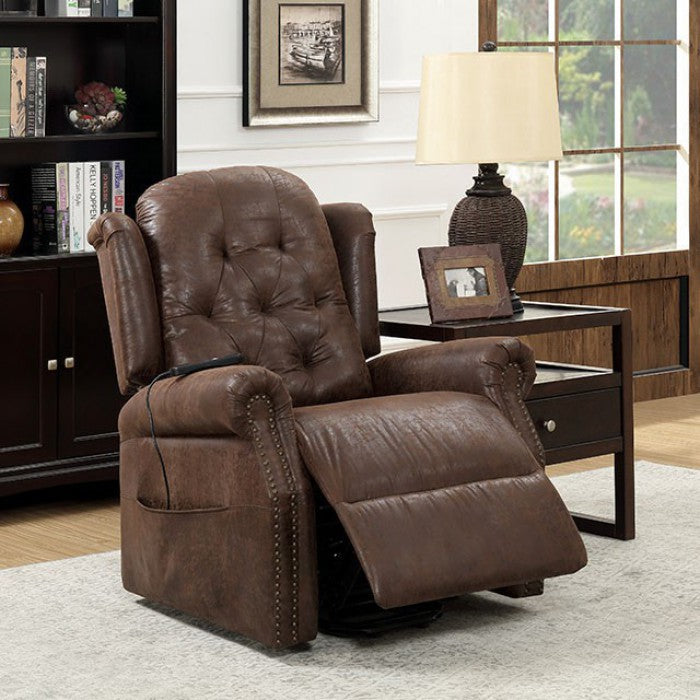 Saco CM-RC6465 Recliner By Furniture Of AmericaBy sofafair.com
