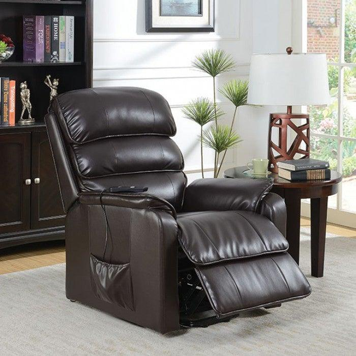 Flip CM-RC6466 Recliner By Furniture Of AmericaBy sofafair.com