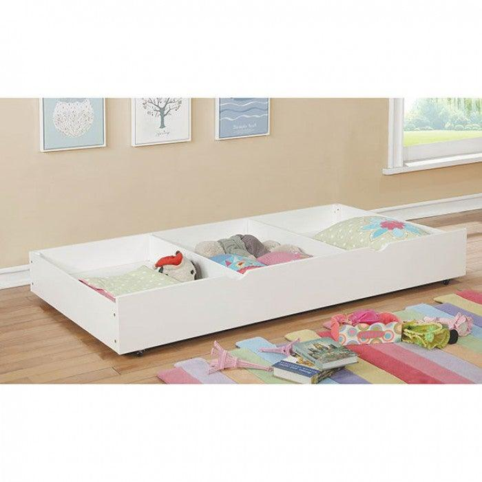 Grano CM-TR453-WH Trundle By Furniture Of AmericaBy sofafair.com