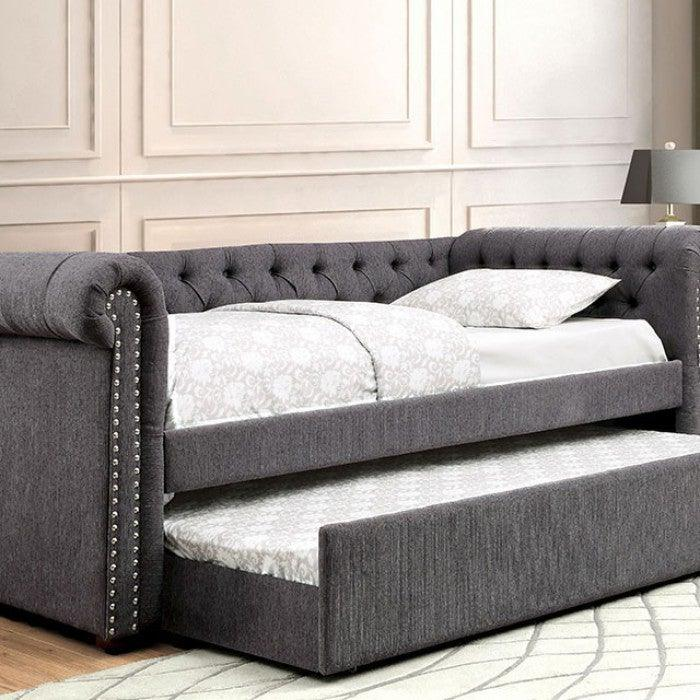 Leanna CM1027GY Daybed By Furniture Of AmericaBy sofafair.com