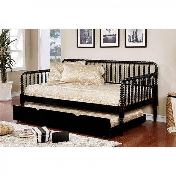 Linda CM1741BK Twin Daybed By Furniture Of AmericaBy sofafair.com