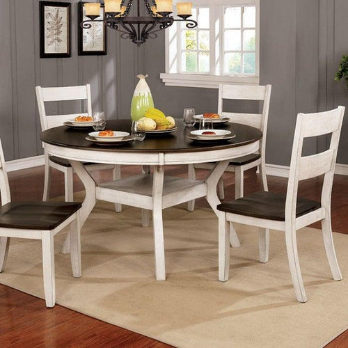 Juniper CM3162WH-RT Dining Table By Furniture Of America from sofafair