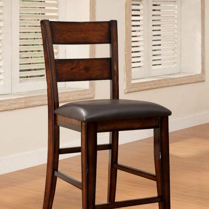 Dickinson CM3187PC-2PK Counter Ht. Chair (2/Box) By Furniture Of AmericaBy sofafair.com