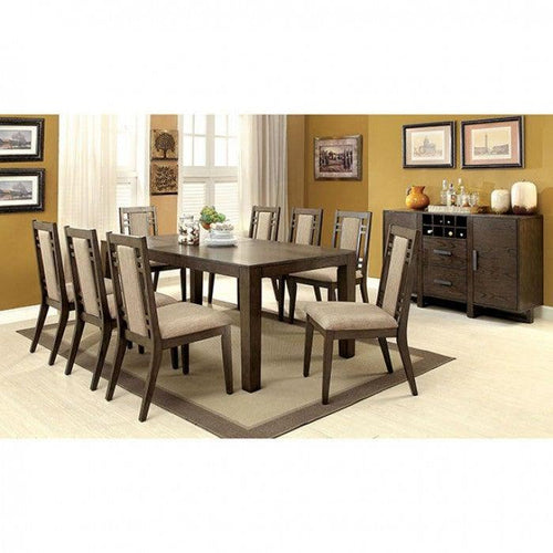 Eris I CM3213T-set-9pcs Dining table set