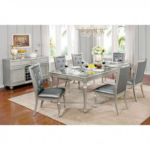 Sarina CM3229T-set-7pcs Dining table set
