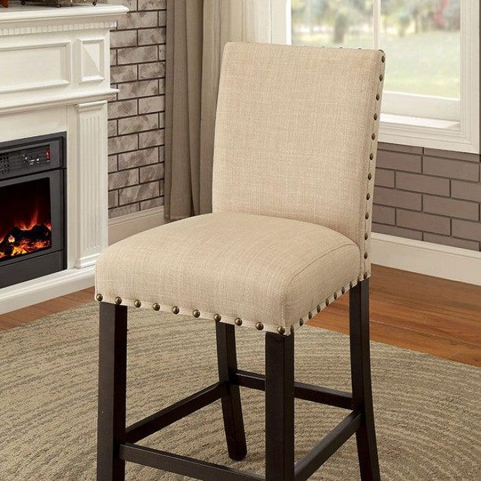 Kaitlin CM3323PC-2PK Counter Ht. Chair (2/Ctn) By Furniture Of AmericaBy sofafair.com
