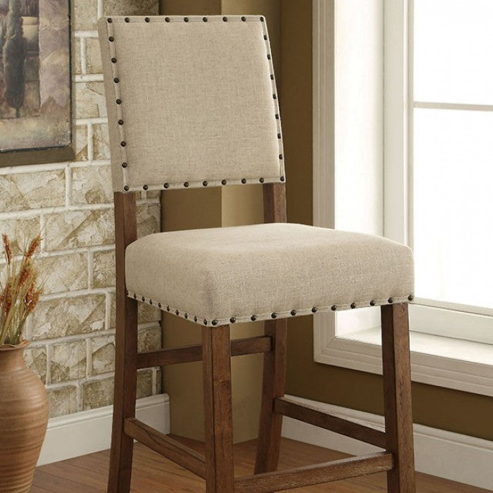 Sania CM3324BC-2PK Bar Chair (2/Box) By Furniture Of AmericaBy sofafair.com