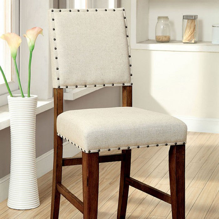 Sania CM3324PC-2PK Counter Ht. Chair (2/Box) By Furniture Of AmericaBy sofafair.com