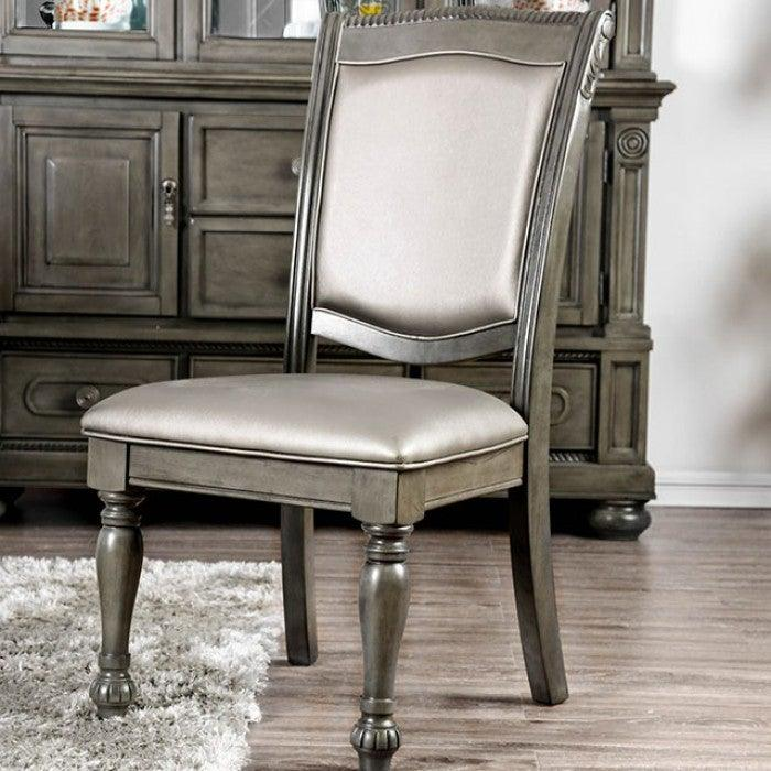 Alpena CM3350GY-SC-2PK Side Chair (2/Ctn) By Furniture Of AmericaBy sofafair.com
