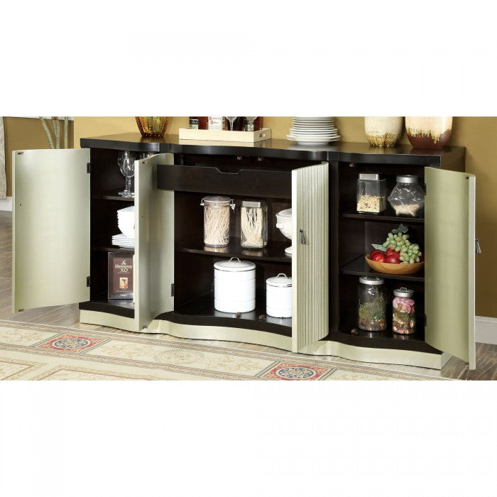 Ornette CM3353SV Server By Furniture Of AmericaBy sofafair.com
