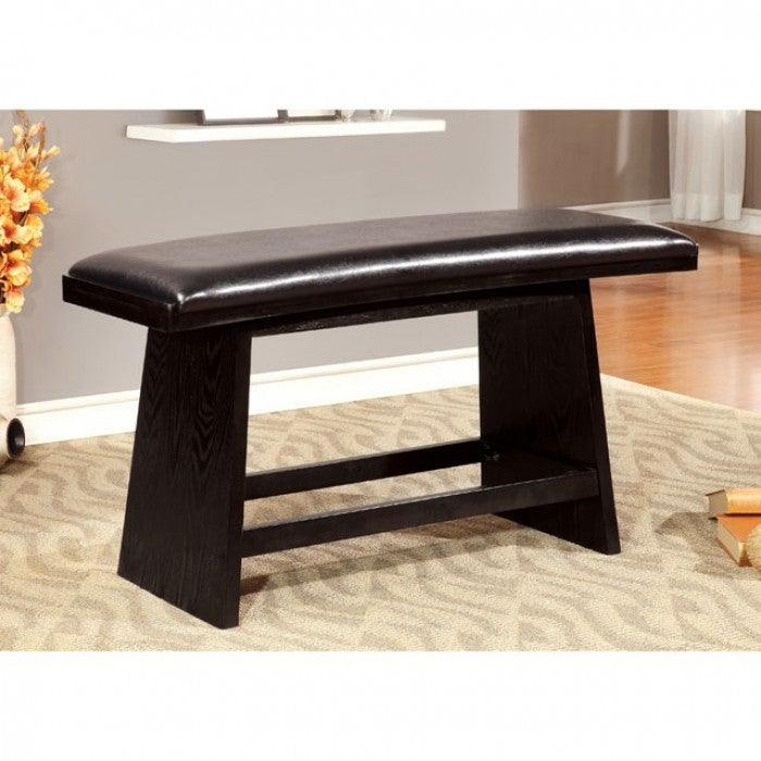 Hurley CM3433PBN Counter Ht. Bench By Furniture Of AmericaBy sofafair.com