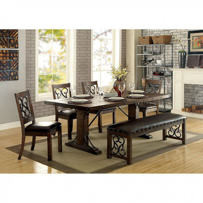 Paulina CM3465T Dining Table By Furniture Of AmericaBy sofafair.com