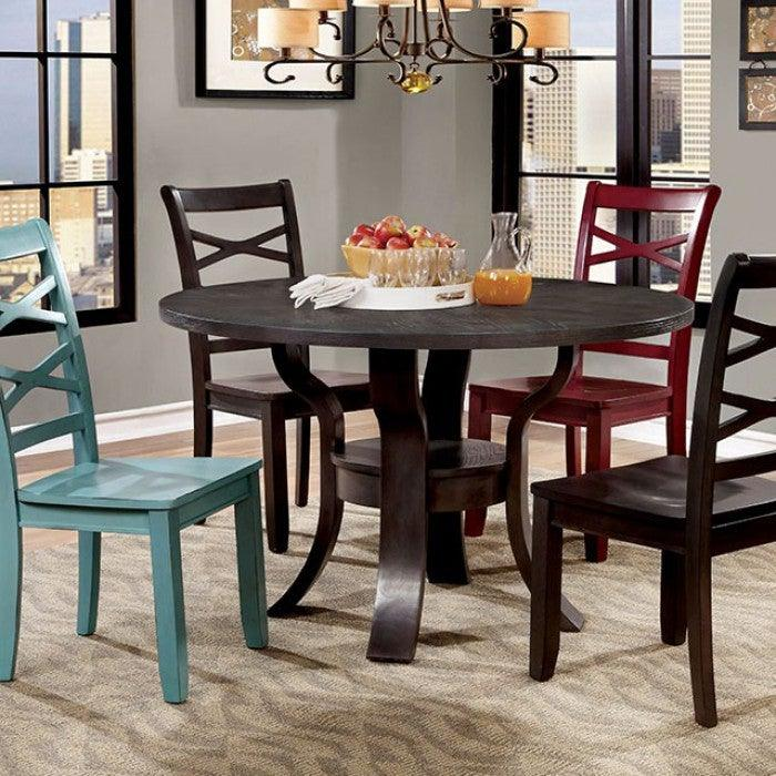 Gisela CM3518RT Round Table By Furniture Of America from sofafair