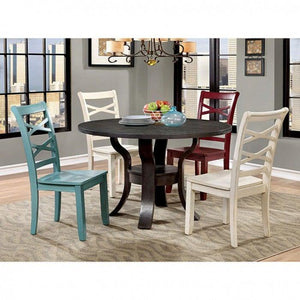Giselle CM3528WH-SC-2PK Side Chair (2/Box)