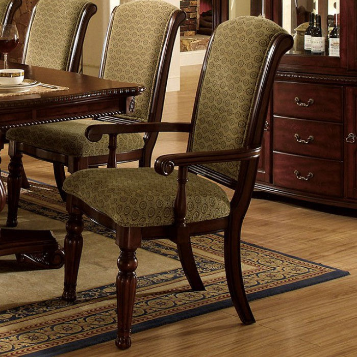 Majesta CM3561AC-2PK Arm Chair (2/Box) By Furniture Of AmericaBy sofafair.com