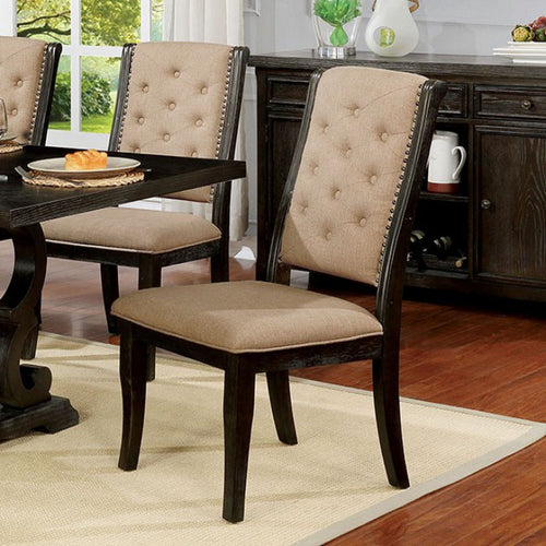 Patience CM3577WN-SC Side Chair (2/Ctn) By Furniture Of America from sofafair