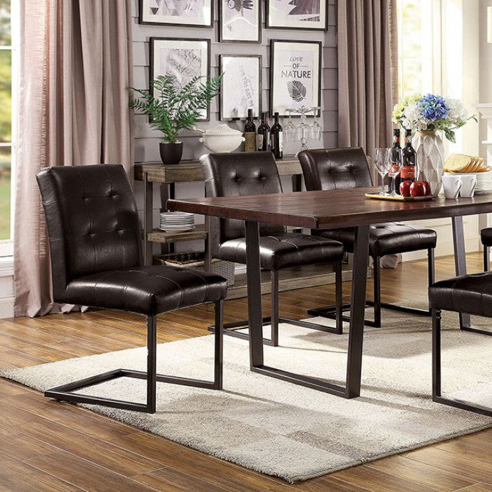 Pisek CM3737T Dining Table By Furniture Of AmericaBy sofafair.com