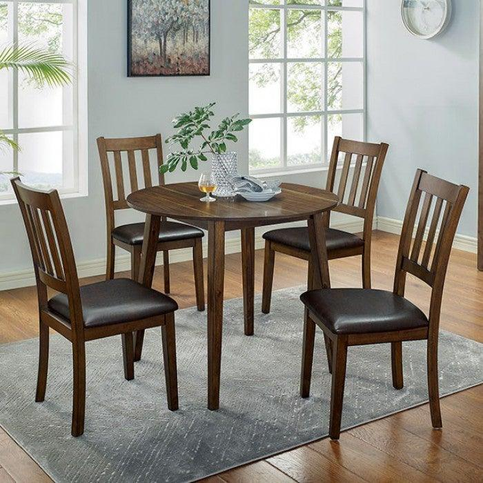 Blackwood CM3771RT-5PK 5 Pc. Round Table Set By Furniture Of AmericaBy sofafair.com