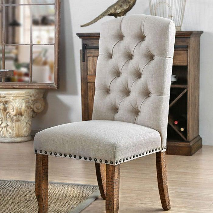 Gianna CM3829F-SC-2PK Side Chair (2/Ctn) By Furniture Of AmericaBy sofafair.com