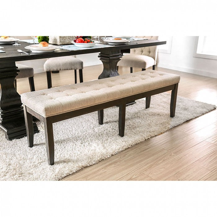 Nerissa CM3840BN Bench By Furniture Of AmericaBy sofafair.com