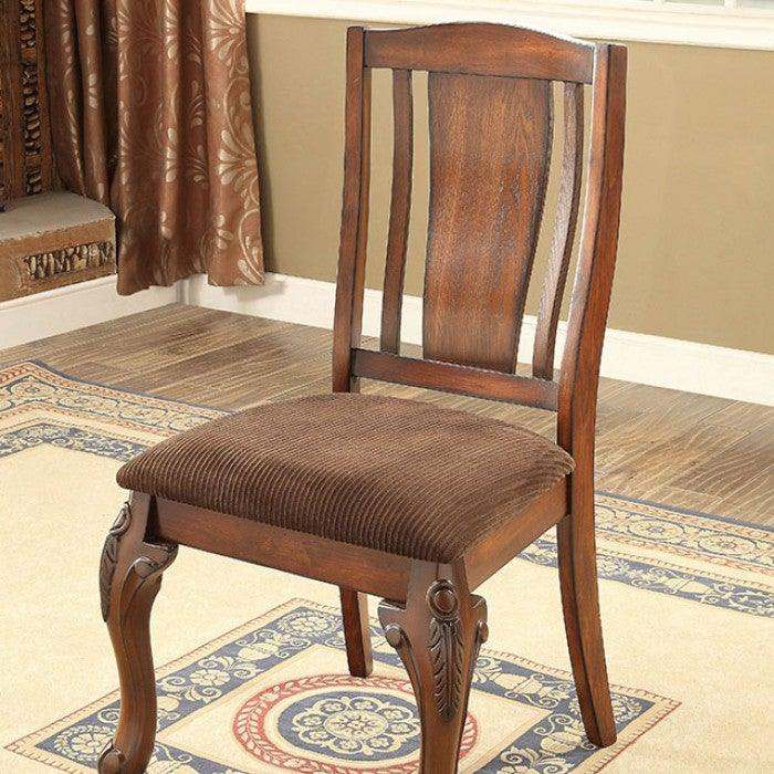 Johannesburg CM3873SC-2PK Side Chair (2/Box) By Furniture Of AmericaBy sofafair.com