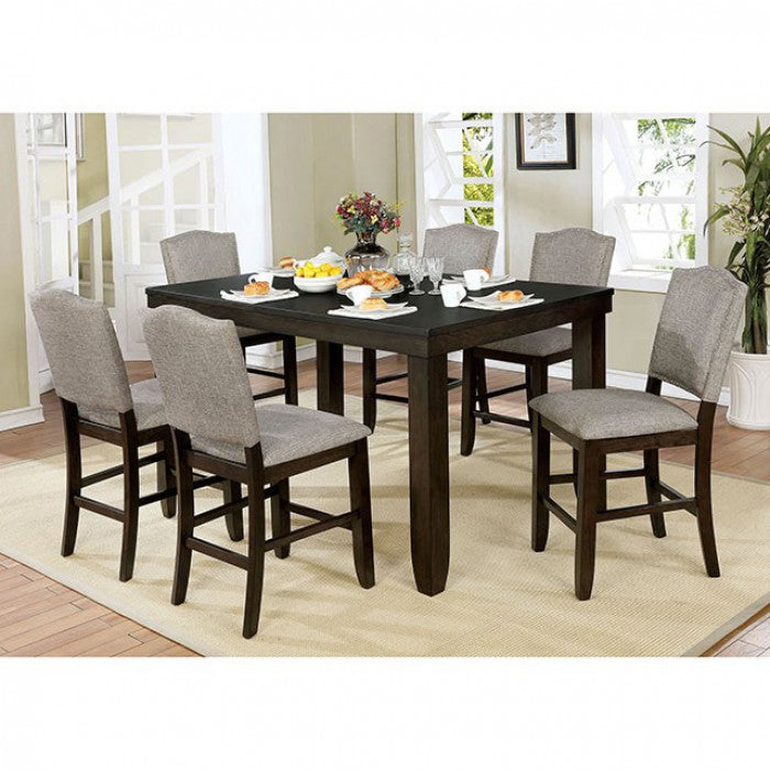 Teagan CM3911PT Counter Ht. Table By Furniture Of AmericaBy sofafair.com