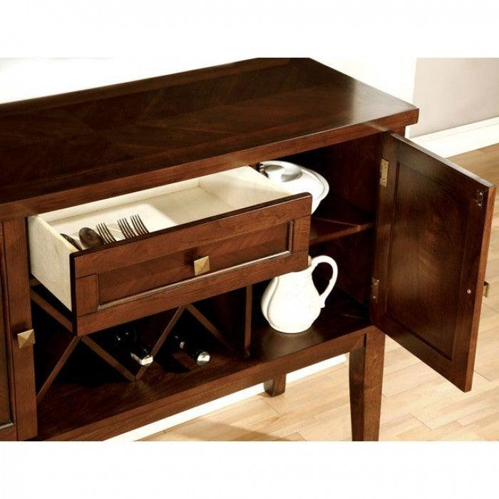 Hillsview CM3916SV Server By Furniture Of AmericaBy sofafair.com
