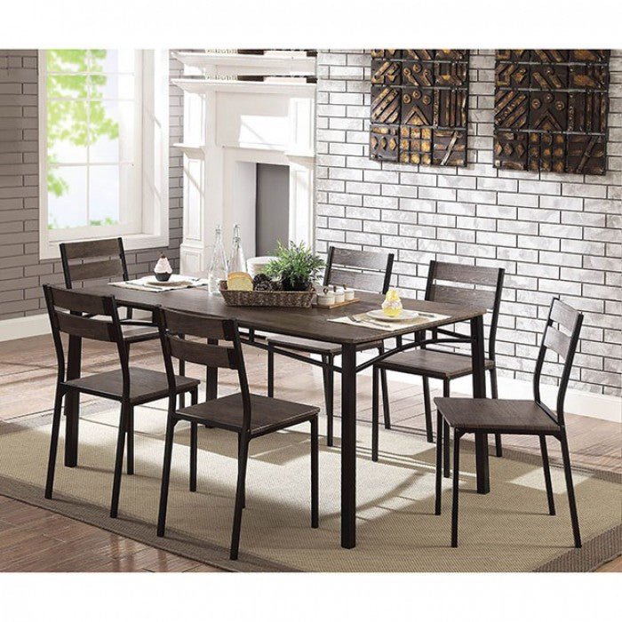 Westport CM3920T-7PK 7 Pc. Dining Table Set By Furniture Of AmericaBy sofafair.com