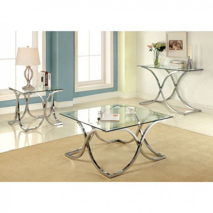 Luxa CM4233C-PK Coffee Table By Furniture Of AmericaBy sofafair.com