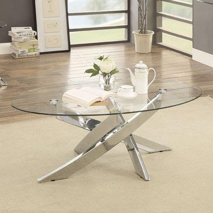 Laila CM4241C Coffee Table By Furniture Of AmericaBy sofafair.com