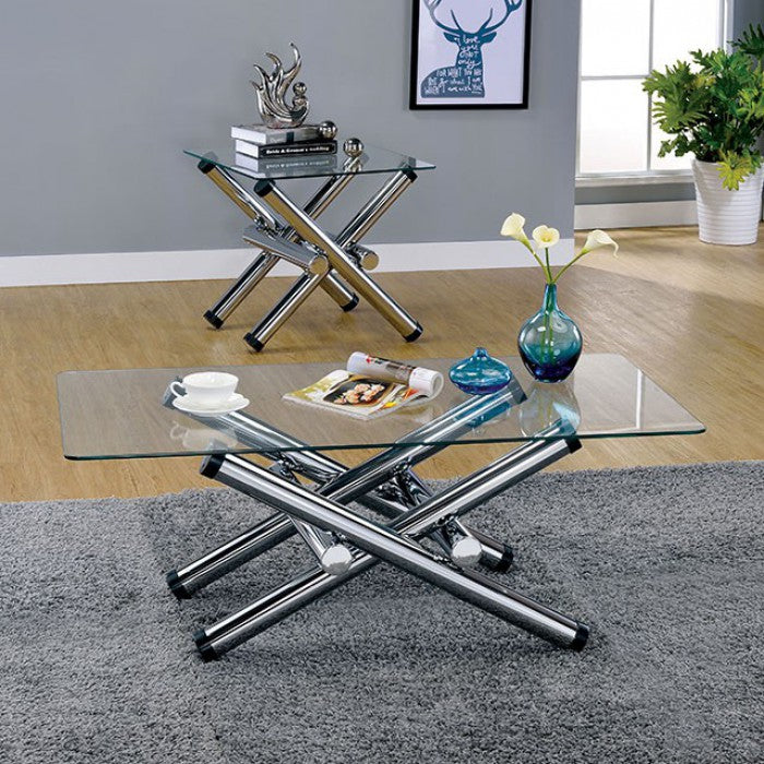 Sarina CM4309E End Table By Furniture Of AmericaBy sofafair.com