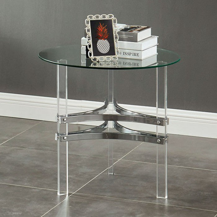 Tirso CM4350E End Table By Furniture Of AmericaBy sofafair.com