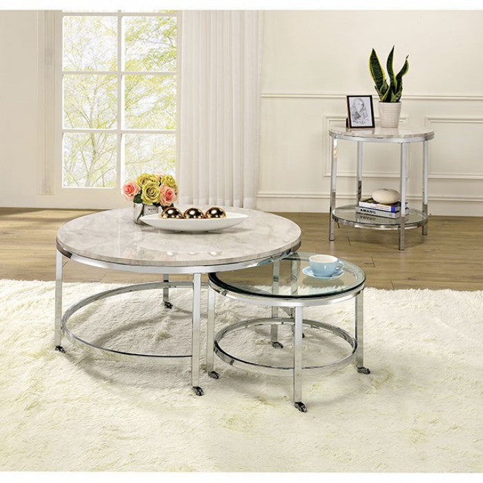 Shauna CM4354E End Table By Furniture Of AmericaBy sofafair.com