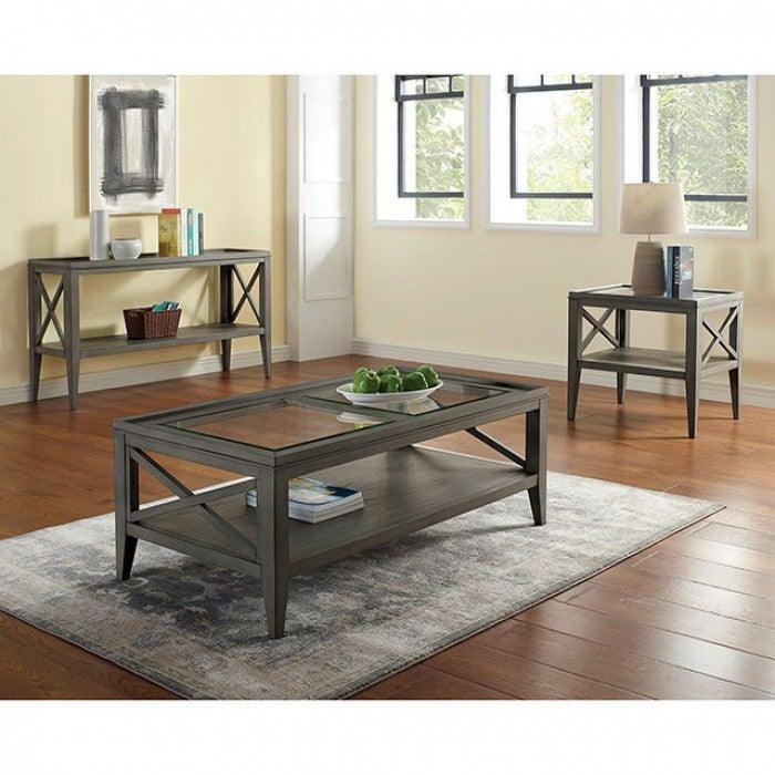 Izar CM4355GY-C Coffee Table By Furniture Of AmericaBy sofafair.com