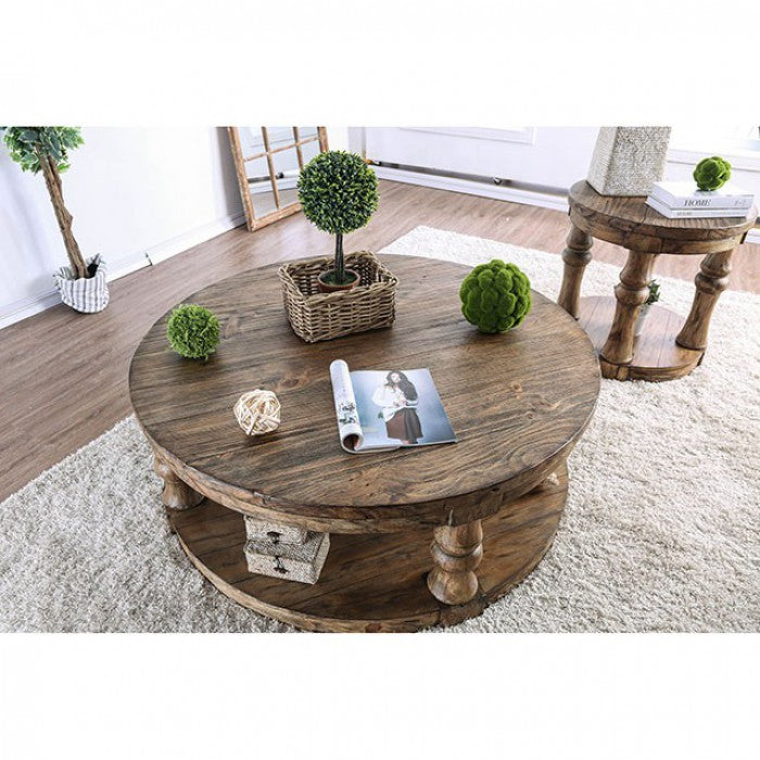 Mika CM4424A-C Coffee Table By Furniture Of AmericaBy sofafair.com