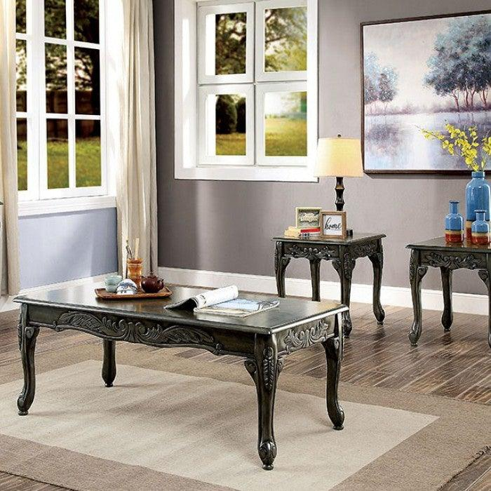 Cheshire CM4914GY-3PK 3 Pc. Table Set By Furniture Of AmericaBy sofafair.com