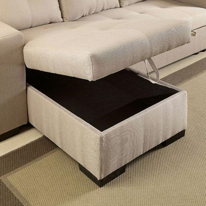 Denton CM6149IV Sectional By Furniture Of AmericaBy sofafair.com