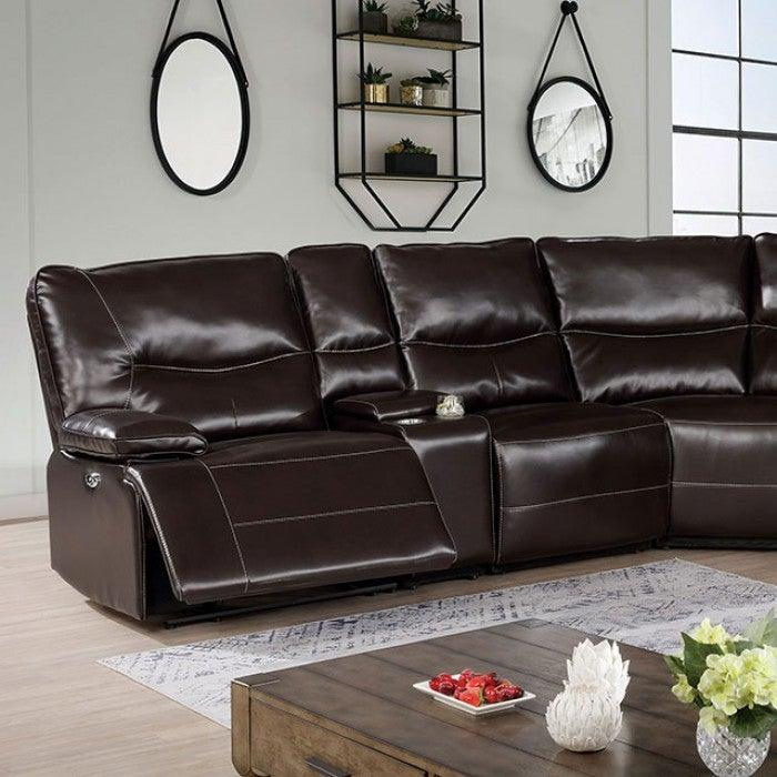 Alayna CM6229DK Power Sectional By Furniture Of AmericaBy sofafair.com