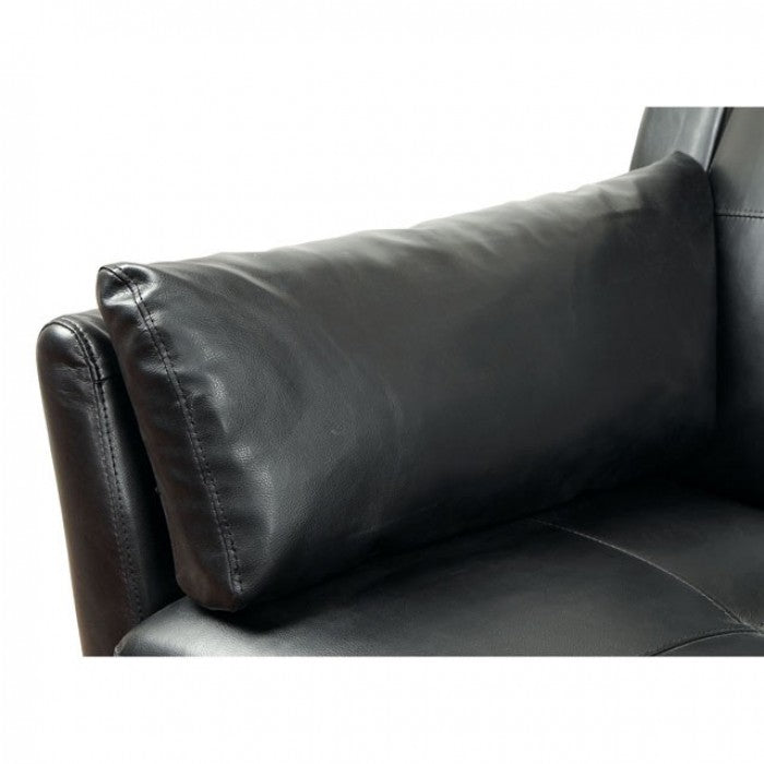 Peever CM6268BK-SET Sectional By Furniture Of AmericaBy sofafair.com