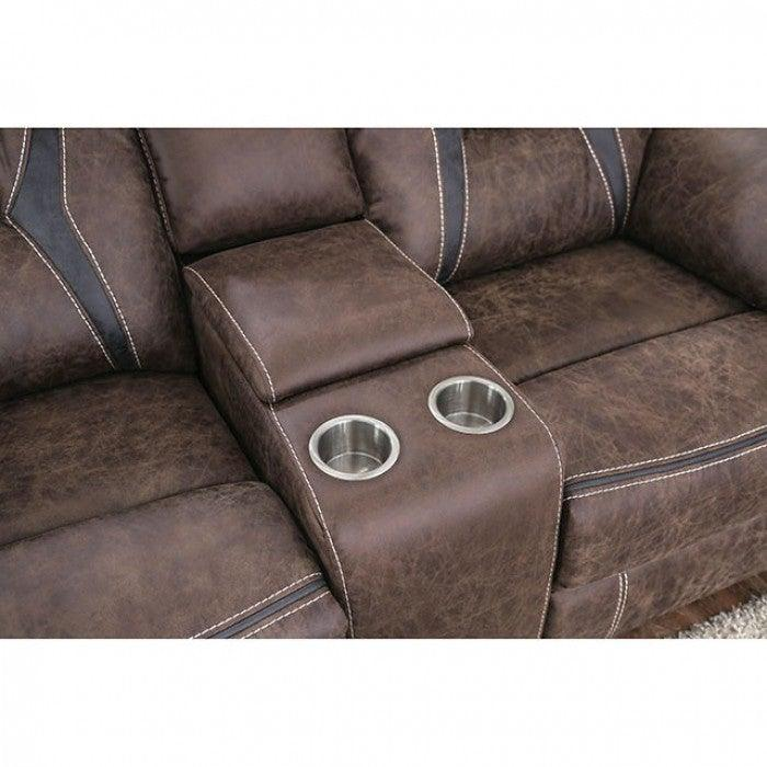 Flint CM6565-LV Love Seat By Furniture Of AmericaBy sofafair.com
