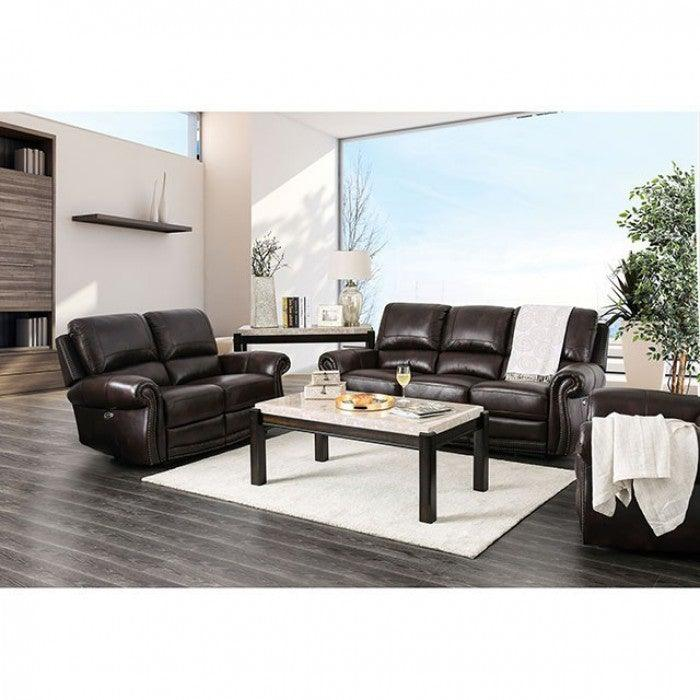 Edmore CM6586-LV Love Seat By Furniture Of AmericaBy sofafair.com