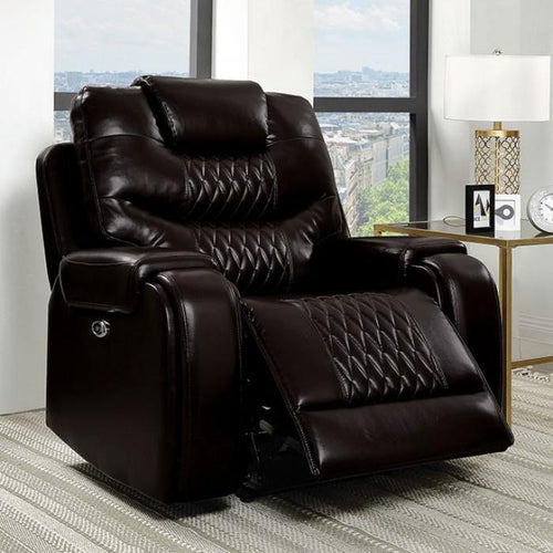 Marley CM6894BR-CH Power Recliner By Furniture Of America from sofafair